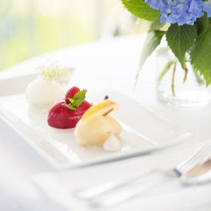 Dessert im Restaurant Weinlandhof