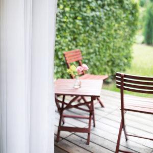 Zimmer mit Terrasse