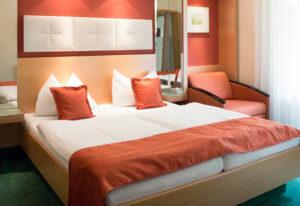 Doppelzimmer im Hotel Weinlandhof in Gamlitz