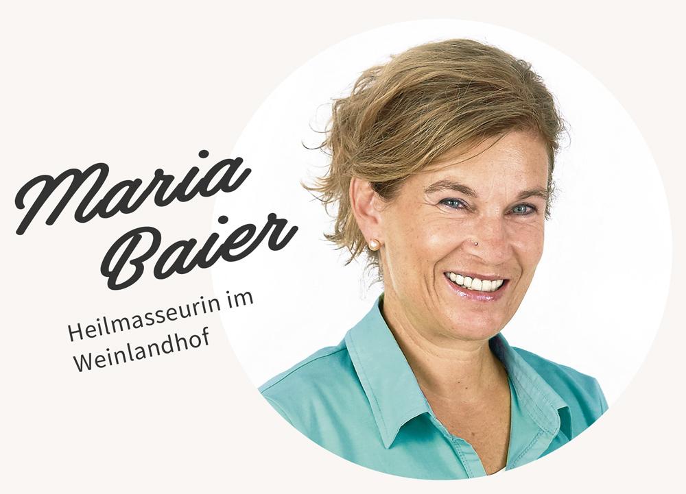 Heilmasseurin Maria Baier