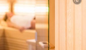 Weinlandhof Sauna Wellnessbereich