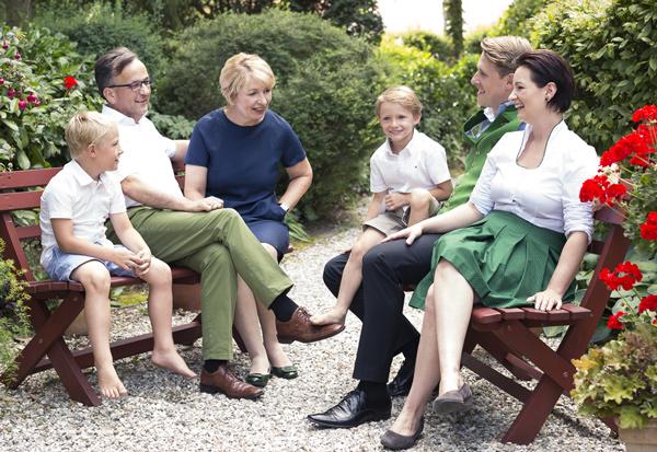 Familienportrait Pichler Wratschko