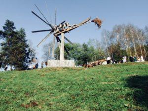 Der weltgrößte Klapotetz, zu finden am Demmerkogel; © Merli75/Wikimedia Commons